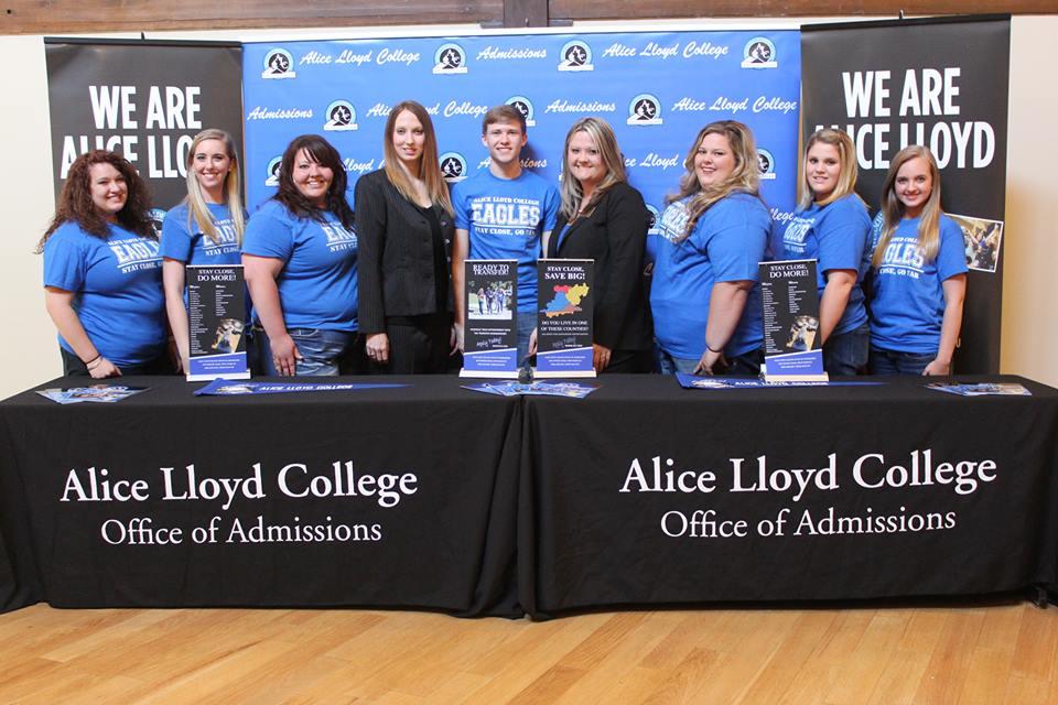 Admissions Team College Fairs