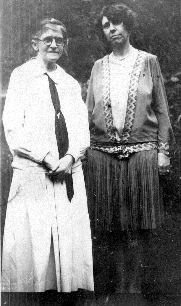 Alice Lloyd and June Buchanan