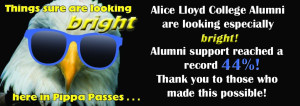 Alumni 44% Thank you