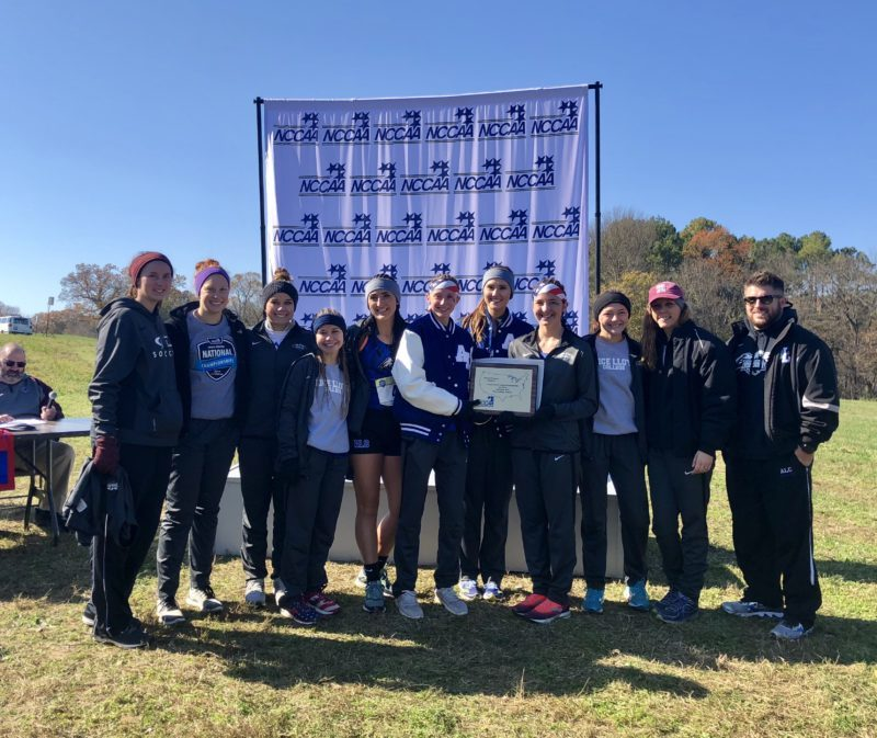 ALC Women's Cross Country Team at Nationals