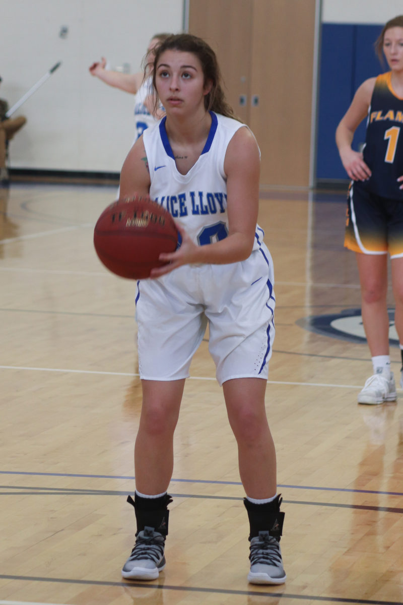 ALC junior guard Katie Moore