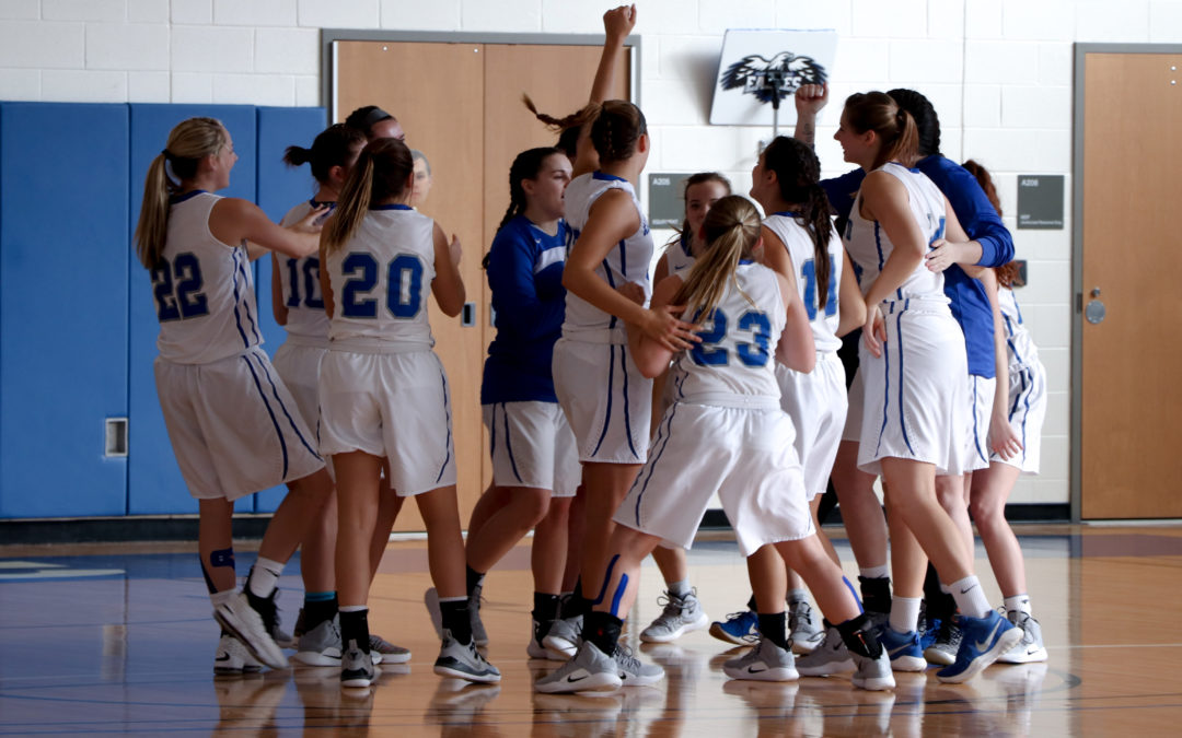 Lady Eagles Fall in Final Minutes to Indiana University East