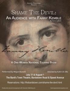 Shame the Devil Show Poster