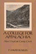 A College for Appalachia Cover