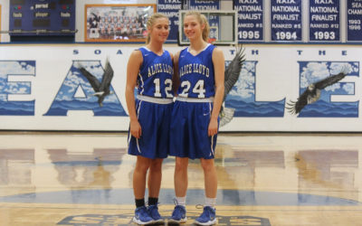 Seeing Double: Wilson Twins Leave Mark on Lady Eagles Basketball Program