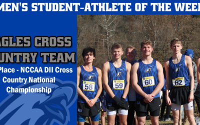 Men's Student-Athlete of the Week: Eagles Cross Country