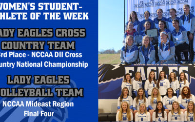 Women's Student-Athlete of the Week: Lady Eagles Cross Country & Volleyball