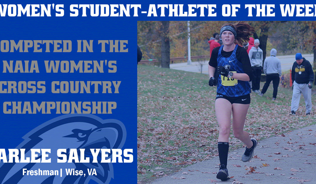 Women's Student-Athlete of the Week: Carlee Salyers